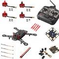 AKASO (Unassembled Kit ) Carbon Fiber Mini QAV250 C250 Quadcopter Frame + Brushless Motor 12A Esc CC3D Flight Control Propellers