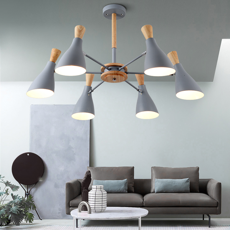 wood Pendant Lights Nordic lighting living room indoor lamp creative personality modern minimalist macarons bedroom restaurant modern circle tree branch led pendant light creative personality firefly dia 210cm nordic living room restaurant hall lobby lamp