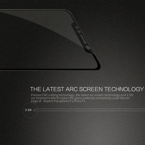 Image 3 - Pocophone F1 Glass Nillkin CP+ 2.5D Full Cover Screen Protector For Xiaomi Pocophone F1 Tempered Glass