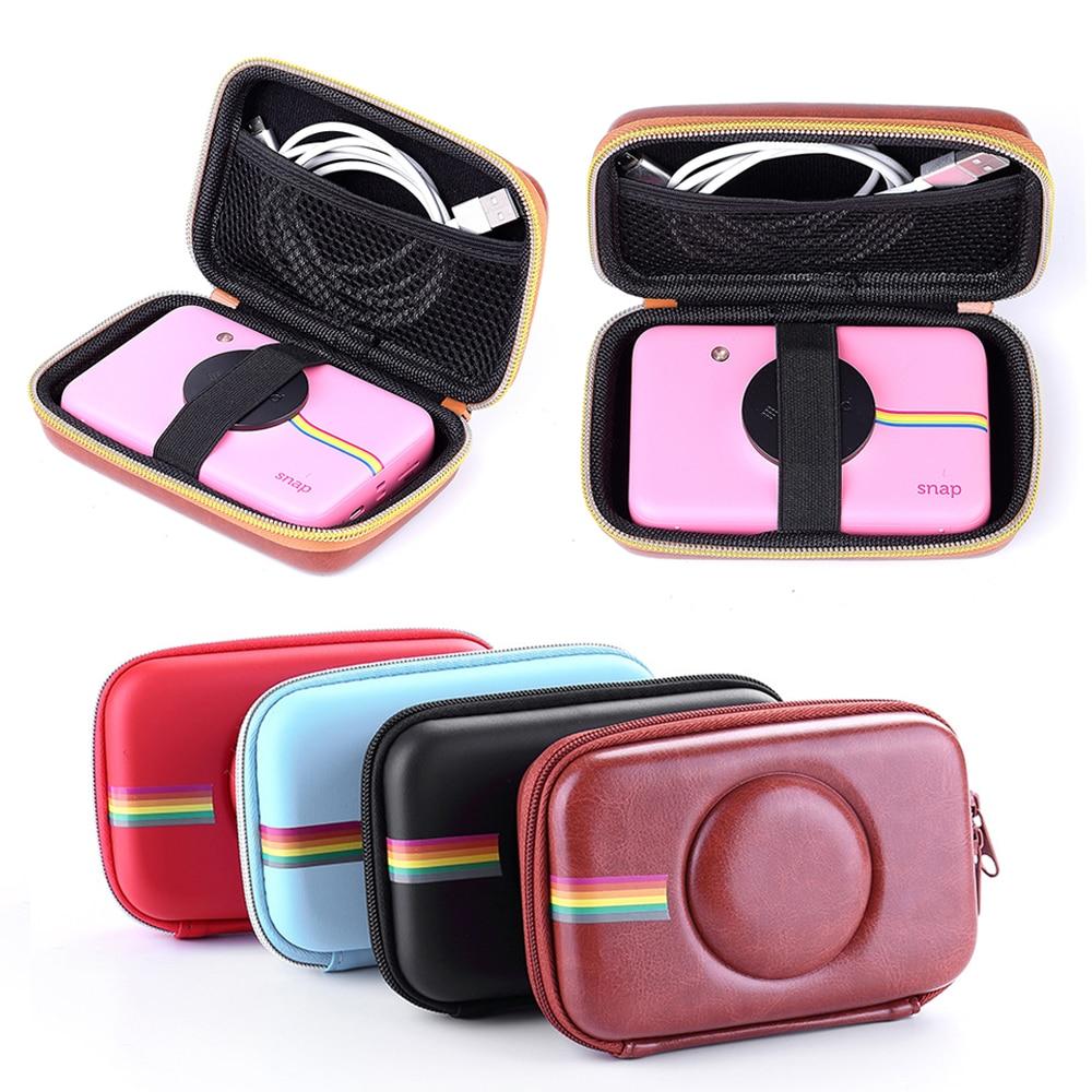2019 Neueste Bunte Hohe Qualität Pu Leder Harte Tasche Kamera Retro Schutzhülle Abdeckung Für Polaroid Snap Touch Modell Kameras