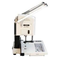 Suministros de encuadernación para máquina de perforación eléctrica para máquina de encuadernación de documentos de oficina