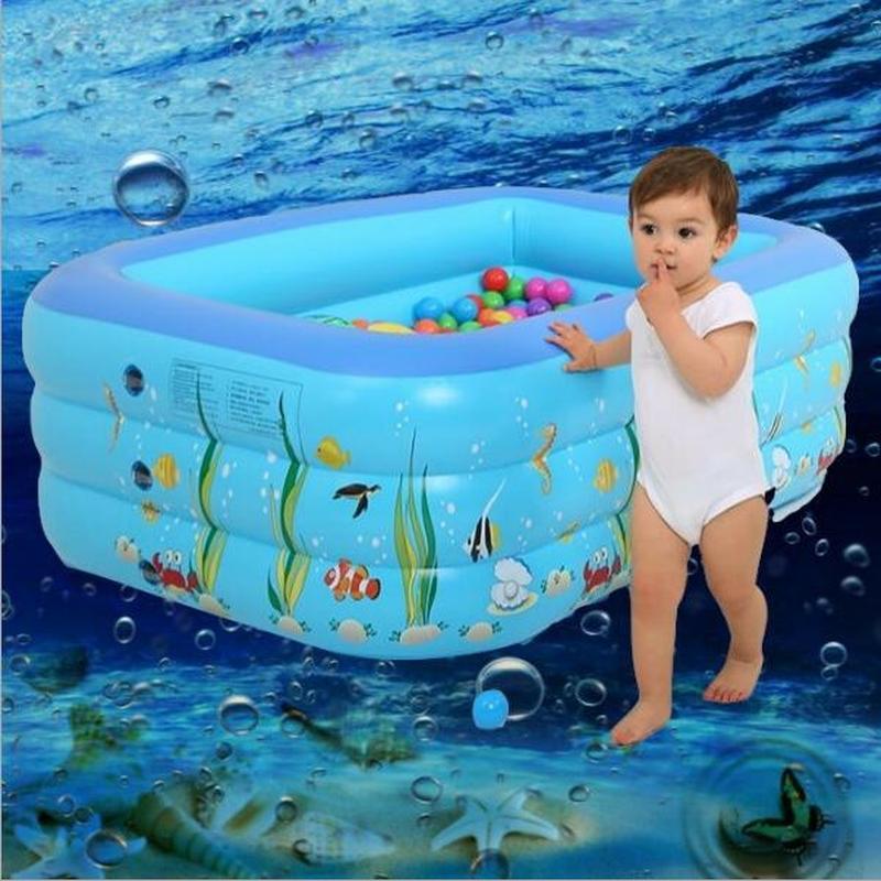 Accueil bébé piscine chaude été maison piscine gonflable enfants épais grande baignoire carrée pliante spa gonflable ZP4031455
