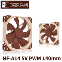 Noctua NF A14 5V PWM 140mm CPU or radiator cooling fans Computer Case CPU heat sink Cooler low noise Fan