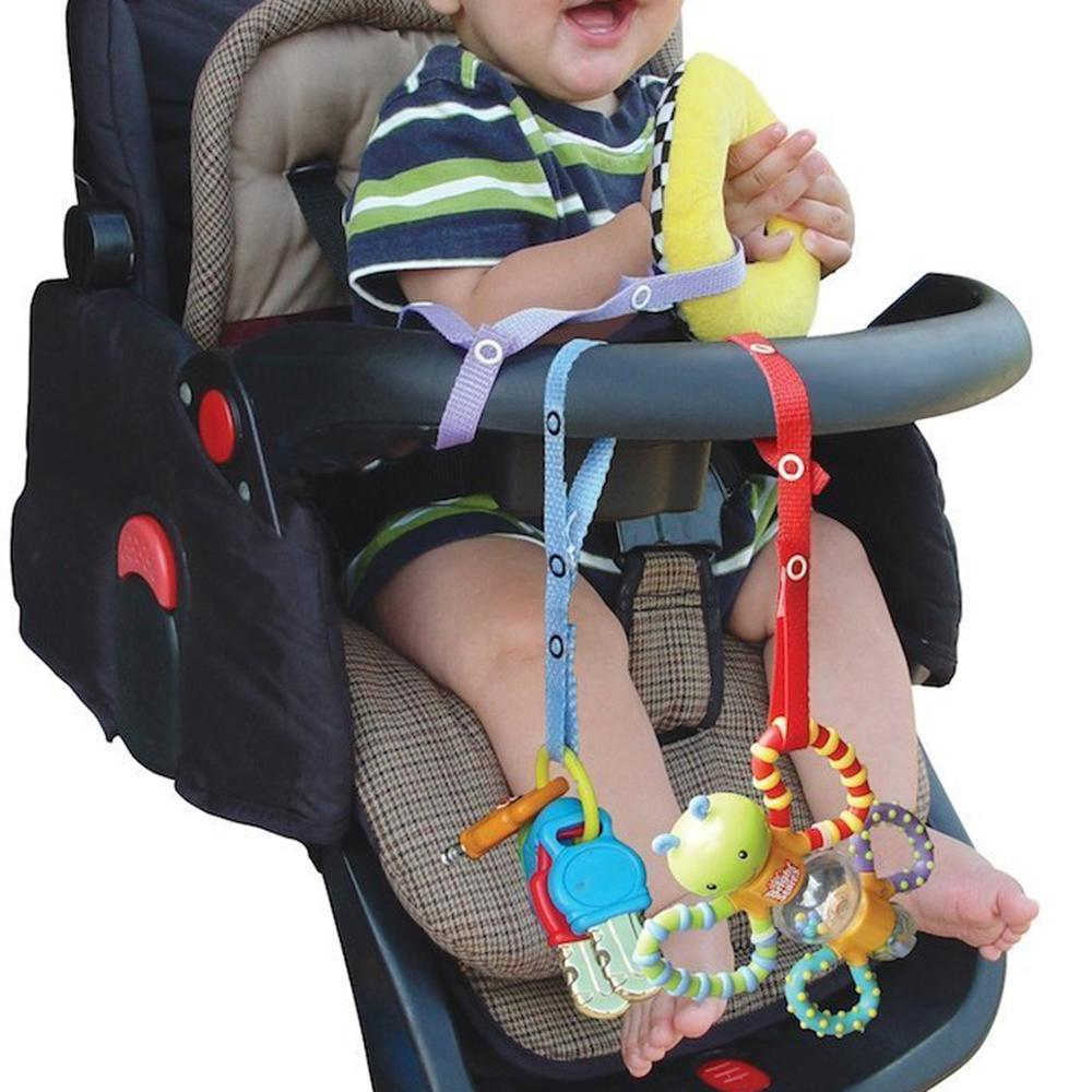 Baby Stroller Accessories Band Pacifier Chain Baby Anti Drop Toy Bottle Clasp Pacifier Clips Hanger Strap Belt For Stroller