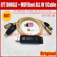 NEW 2019 Original ASY FIRMWARE TEMA / EFT DONGLE +MUF(Boot ALL IN 1)Cable for protected software for unlocking flashing and repa