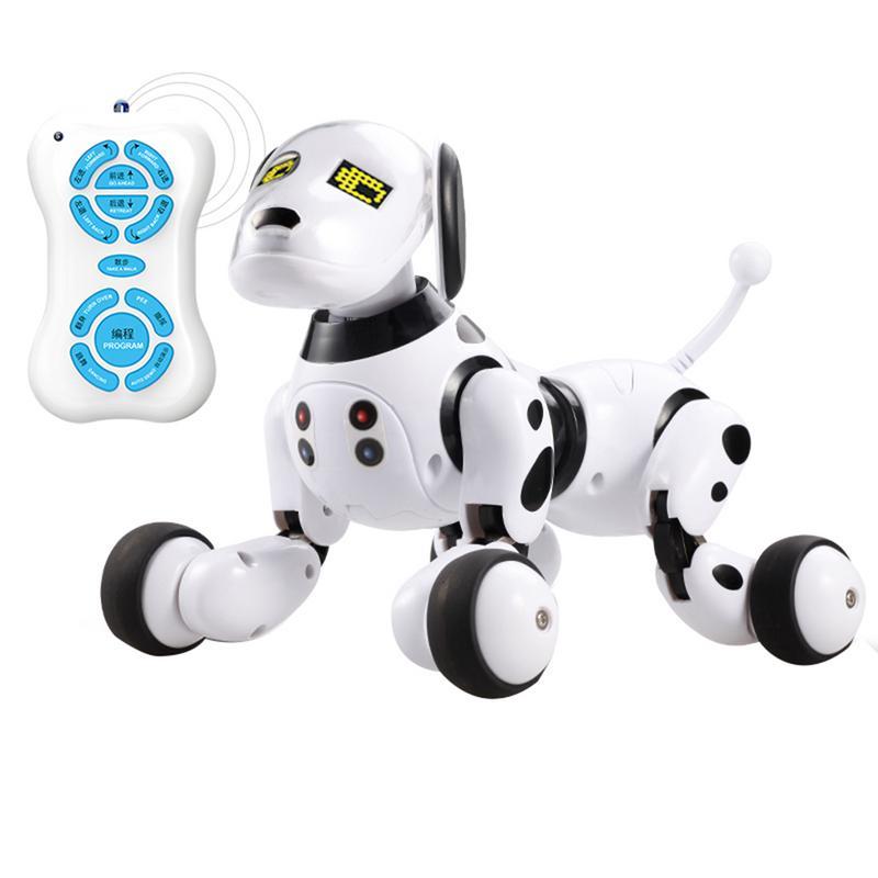 Sans fil Télécommande Robot Intelligent Chien Enfants Jouet Intelligent Parler Robot Chien Jouet 2.4g Électronique Pet Cadeau D'anniversaire