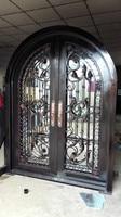 72 x96 wrought iron door