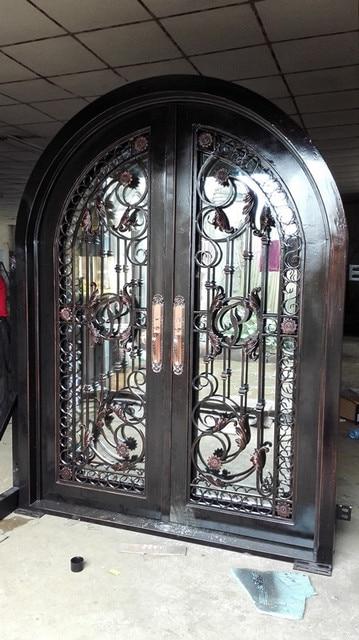 """72 x96"""" wrought iron door"""