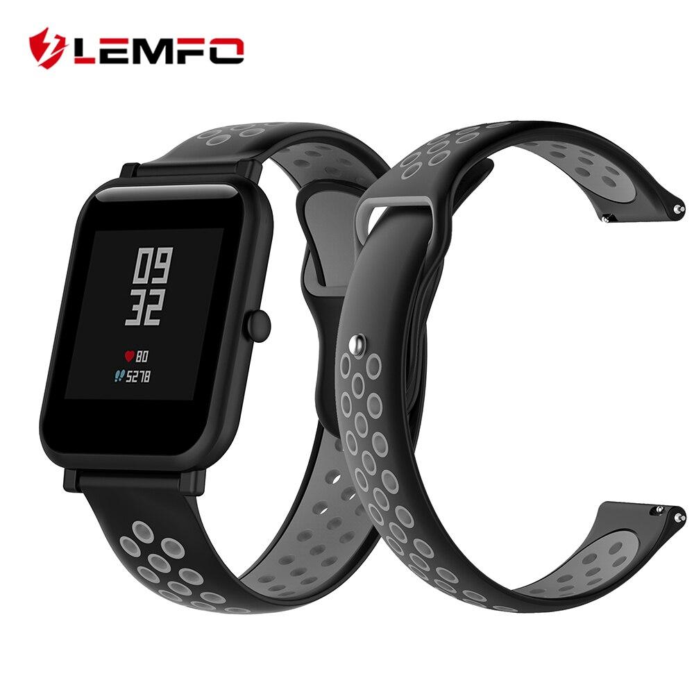LEMFO Smart-Watch-Band Wristband Bip-Strap Xiaomi Amazfit Original Bracelet Sport Silicone