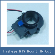 Fisheye MTV Mount Lense Lens IR Cut Filter , CCTV IP Camera Module Web Cam DIY Parts , Free Shipping
