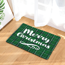Christmas Mats Anti Slip Carpets Christmas Letter Print Mats Bathroom Floor Kitchen  Rugs 40X60 50X80