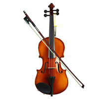 High end handmade violin beginner children adult violin handmade spruce violin playing practice musical instrument gift