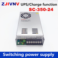 New 350w 24v 11A universal AC UPS/Charge function monitor switching power supply input 110/220v battery charger output 27.6VDC