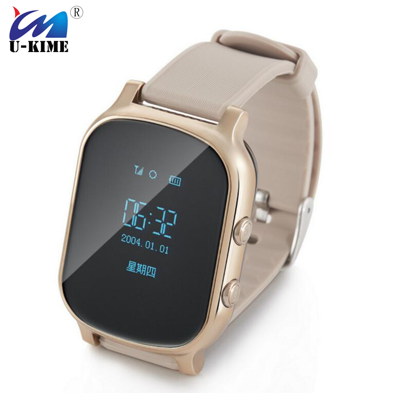 T58 smart watch elderly children GPS positioning smart watch card call anti - lost phone watch.