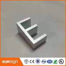 Whole sale cutting alumium letters sign letters