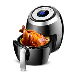 Household Electric Air Fryers Multifunction Oil Free Electric Fryer 5L Black Intelligent Touch Freidora Sin Aceite Fries Machine