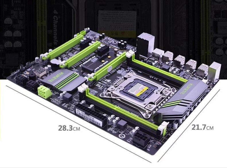 X79 Motherboard Lga2011 Atx Usb3.0 Sata3 Pci-e Nvme M.2 Ssd Unterstützung Reg Ecc Speicher Und Xeon E5 Prozessor Weder Zu Hart Noch Zu Weich