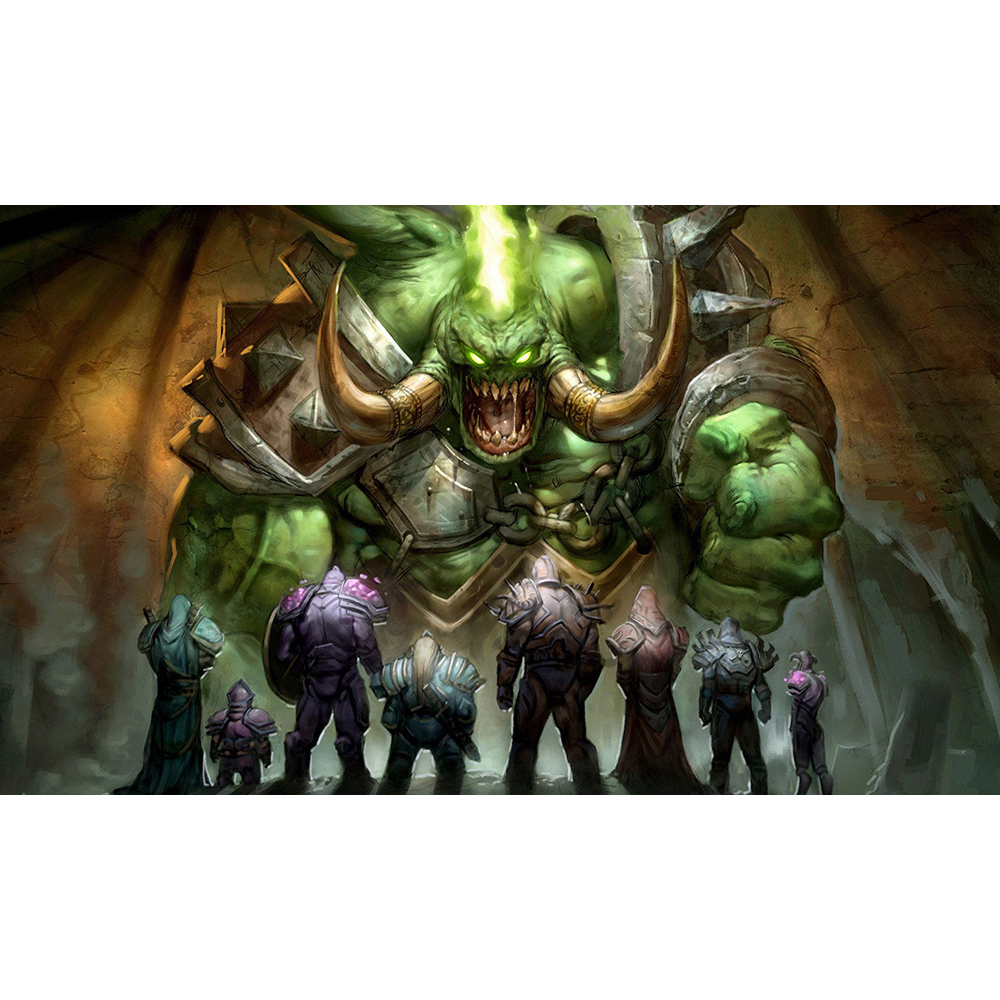 NO.9 World of Warcraft PLAYMAT, World of Warcraft Table Pad Game Cards Pad WorldCraft Cards Playmats Can be Custom Printed