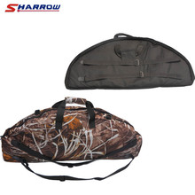 Archery Bow Bag 2 Colors Compound Case Puller Protector Pocket