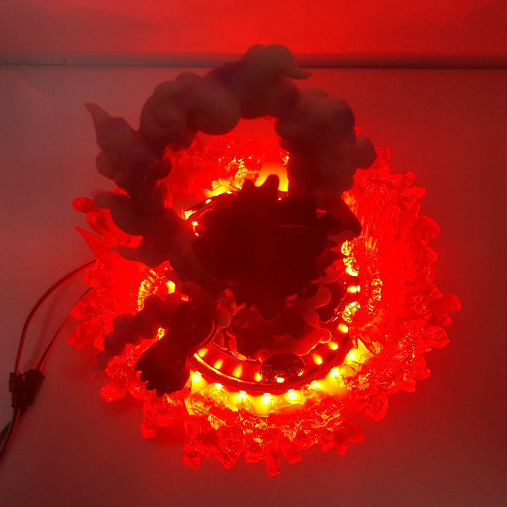 lampada de controle remoto cor mudando para quarto 04