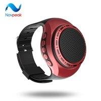 10 шт./лот nevpeak Часы Bluetooth Динамик с Радио Функция стерео Руки одежда спортивные MP3