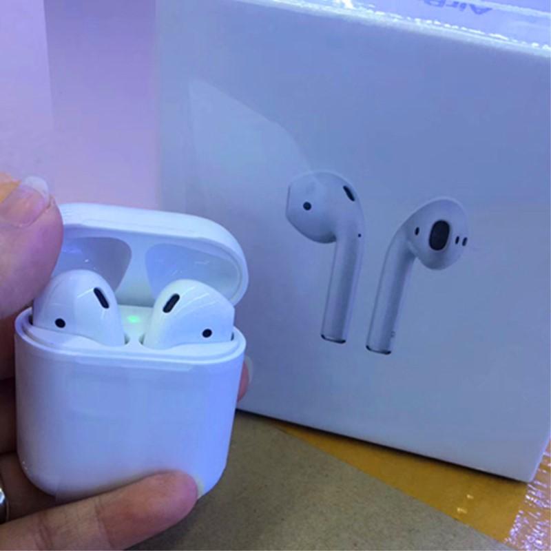10 pcs/lot W1 puce Mini 1:1 TWS marque mini casque sans fil Bluetooth boîte de charge pour iP S 7 8 X XS Max Pad Mac boîte de détail
