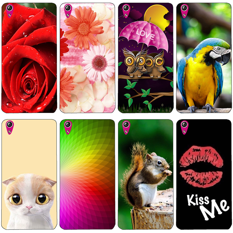 Back Cover For <font><b>Lenovo</b></font> Vibe X <font><b>S960</b></font> S 960 Soft Silicone Protective Phone Case Horse Cat Owl Dog Cat Handsome Tiger Fruits Cases image