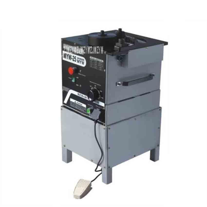 New 110V 230V 1600W Electric Rebar Bending and Cutting Machine Mini Rebar Cutting and Bending Tools MYWQ 25 Machines Up to 25mm