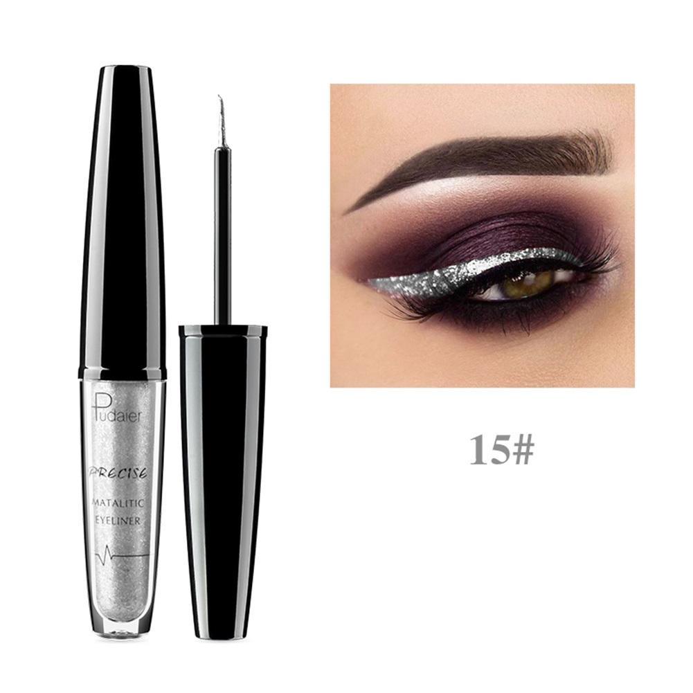 Glitter Diamond Liquid Eyeliner Eyshadow Sparkling Shimmer Long Lasting Waterproof Eyeliner Eys Beauty Make Up Cosmetics