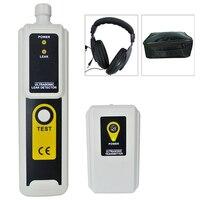 Detector de Fugas ultrasónico y Transmisor de Presión y Vacío Sistema Localizador Detector Detecta 40 kHz Indicador LED Portátil