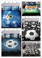 Домашний текстиль постельные принадлежности 3d печать футбол детская комната украшение постельное белье простыня наволочка пододеяльник