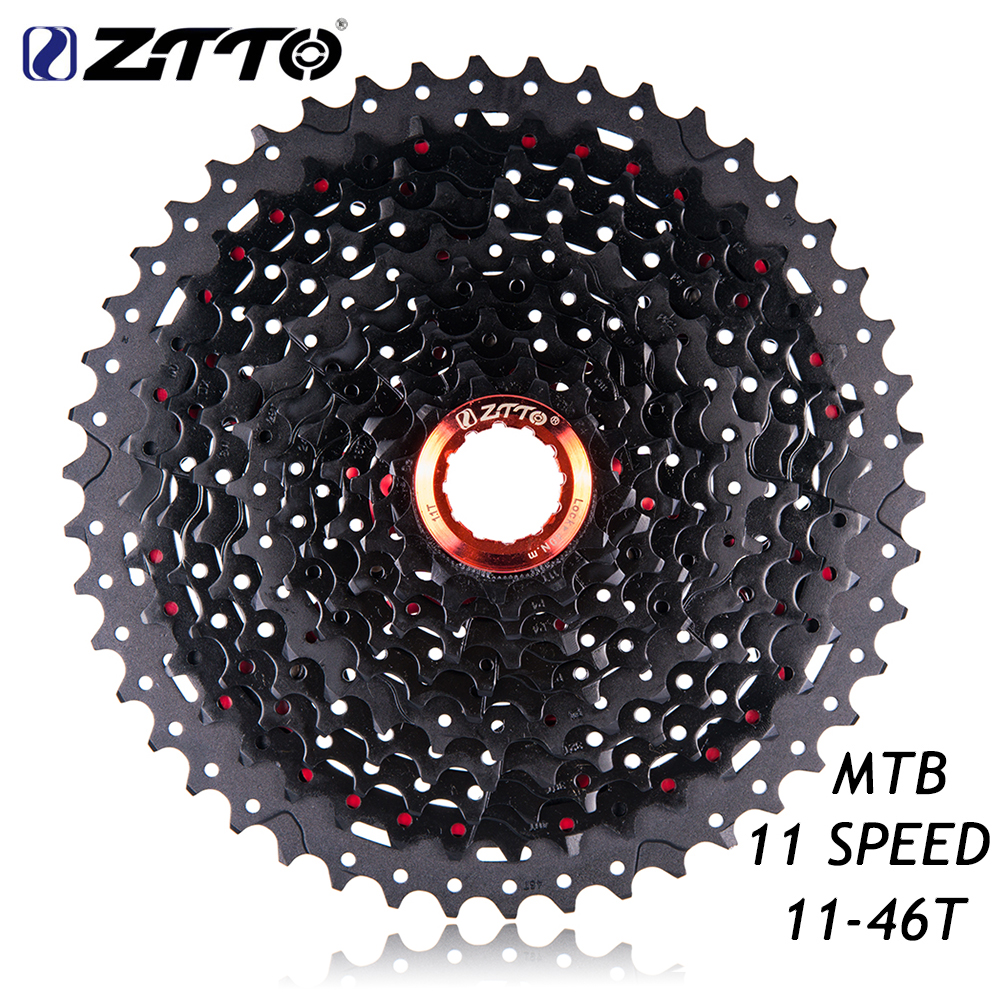 ZTTO 11 Speed Cassette 11S Freewheel 11- 46T Wide Ratio Sprockets for Shimano Sram System MTB Mountain Bike Bicycle Parts ztto mtb mountain bike road bicycle parts high quality durable gold golden chain 10s 20s 30s 10 speed for shimano sram system