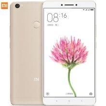 Оригинал Xiaomi Mi Max Премьер Смартфон Mimax 6.44 «Snapdragon 650 Гекса Основные 4 Г LTE Мобильные Телефоны Отпечатков Пальцев ID