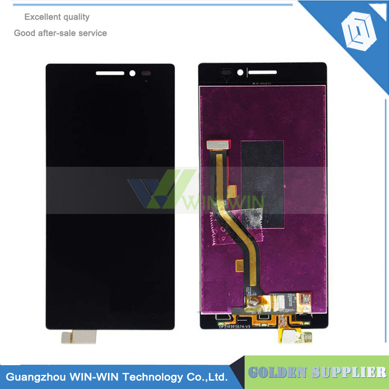 Black Tested Well For Lenovo Vibe X2 LCD Display Touch Screen Assembly X2-TO X2-CU Replacement Parts original quality test ok lcd display touch screen digitizer assembly for lenovo vibe x2 x2 to x2 cu black free shipping track