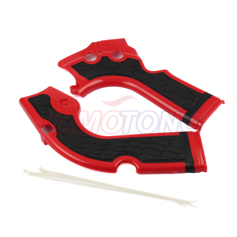 Red Motorcycles Frame Guard Motorcross for Honda CRF 250 450 R 2013-2016 CRF X Bikes Frame Protection
