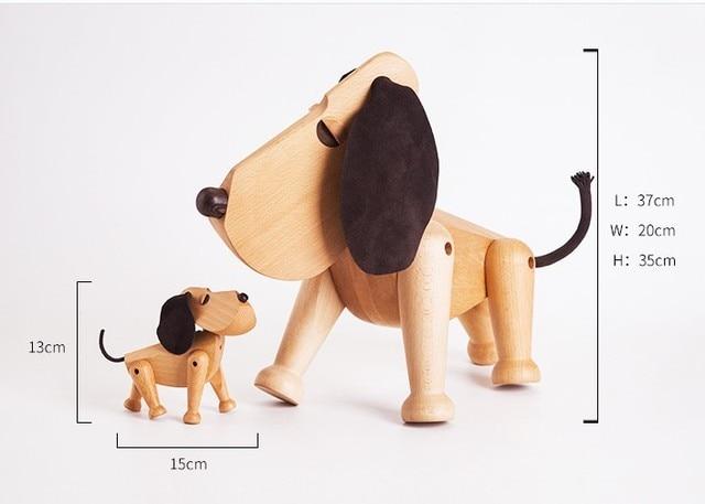 Nordic Style Wooden Animal Figurines