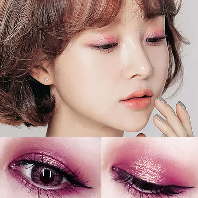 9 Colors Professional Eye Shadow Smoky Eyeshadow Palette Maquillage Long Lasting Waterproof Diamond Bright Eye Makeup 4