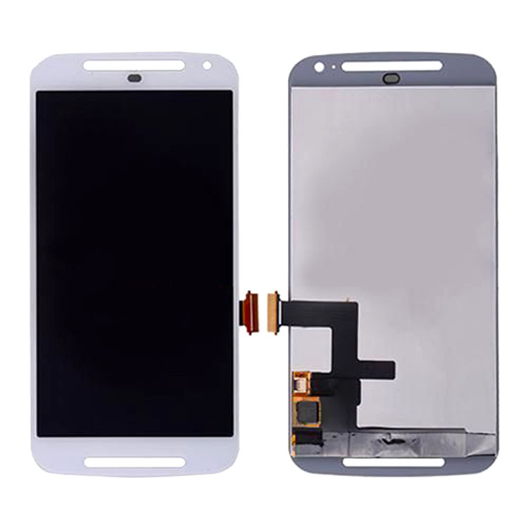 ФОТО For Motorola Moto G 2nd G2 Gen XT1063 LCD Screen Display Digitizer Touch Assembly White Repair Part High Quality