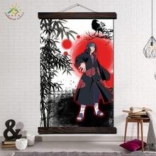 Итачи Учиха Наруто Wall Art Отпечатки На Холсте Картина Кадр Прокрутки Живопись Плакат  Лучший!