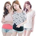 MamaLove 2 PCS Maternity pregnancy Clothes for Pregnant Women Summer maternity T-shirt nursing top Maternity Breastfeeding Tops