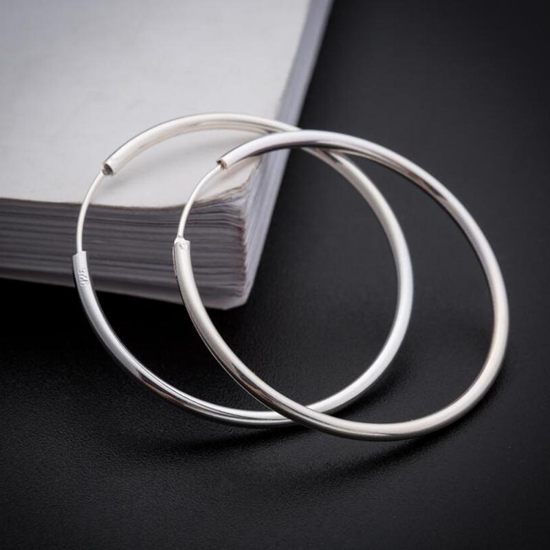 sinya circle ring hoop earring in 925 sterling silver ED0348E (13)