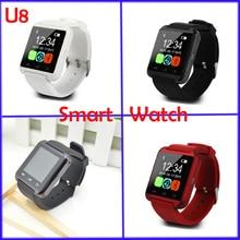 Smart Uhr U8 Uhr Sync Notifier Unterstützung Bluetooth-konnektivität iphone Android Telefon Smartwatch Uhr