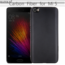 Купить с кэшбэком HATOLY Cover Xiaomi Mi5 Case Xiaomi Mi 5 Soft Rubber Silicone Armor Protective Phone Shell Bumper Phone Case for Xiaomi Mi5