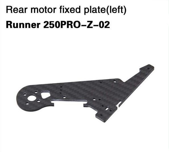 Walkera Runner Rear Motor Fixed Plate 250PRO-Z-02 Runner 250PRO-Z-03 for Walkera Runner 250 PRO GPS RC Racer Quadcopter Drone