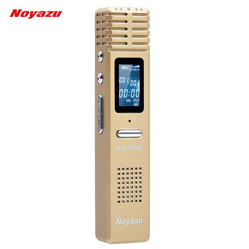 NOYAZU X1 Original Digital Recorder Pen 16GB Professional Audio Sound Voice Recorder MP3 Player USB Disk Flash Drive Black Gifts