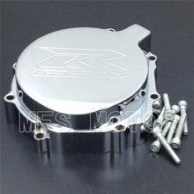 Motorcycle left side Engine Stator cover For Suzuki  GSXR600 750 2004-2005 GSXR1000 2003-2004 CHROME