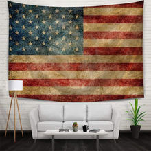 Room Decor USA Flag Tapestry American Flag Printing Wall Hanging Tapestry Polyester Flag Wall Banner 150x210cm