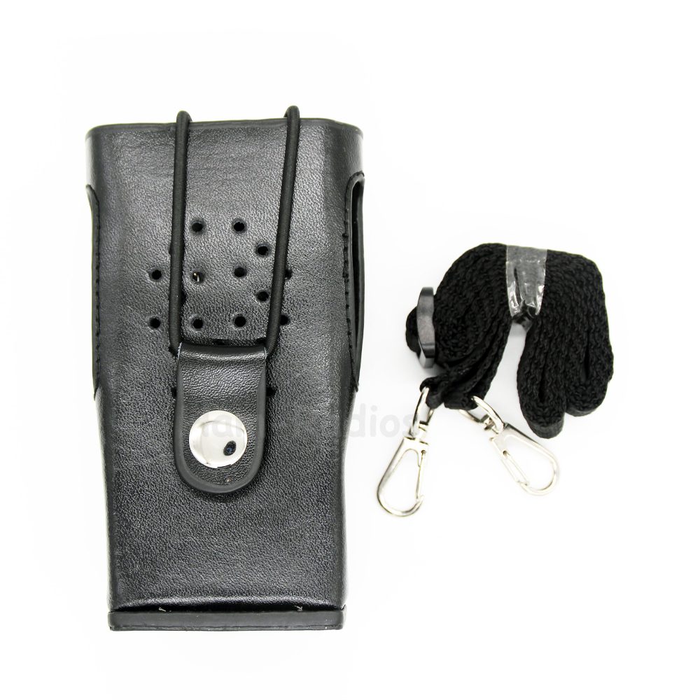 Walkie Talkie Hard Leather Carrying Case For Kenwood Two Way Radio TK-3200 TK3207 TK-2200 TK2207 TK-3307