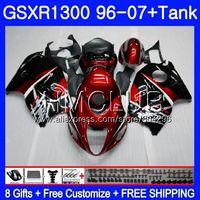 Темно красный обтекатель для SUZUKI Hayabusa GSXR 1300 GSXR1300 96 97 98 99 00 01 26HM. 7 GSX R1300 1996 1997 1998 1999 2000 2001