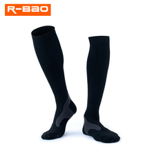 Knee High Compression Socks for Men Women High-quality Marathon Sports Quick-Dry Bicycle 7711